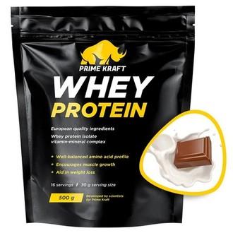 Prime Kraft, Сывороточный протеин «Молочный шоколад», 500 г