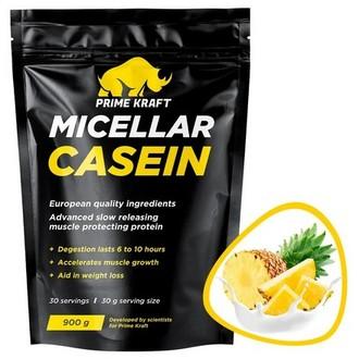 Prime Kraft, Протеин Micellar Casein «Ананасовый йогурт», 900 г