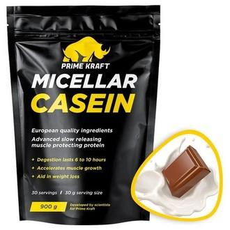 Prime Kraft, Протеин Micellar Casein «Молочный шоколад», 900 г