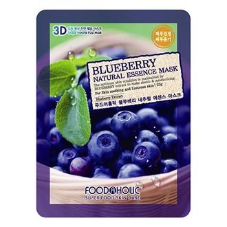 Foodaholic, Тканевая маска для лица Blueberry, 23 г