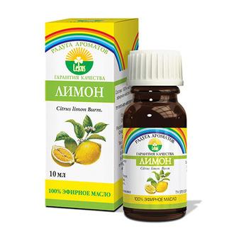Радуга ароматов, Эфирное масло «Лимон», 10 мл