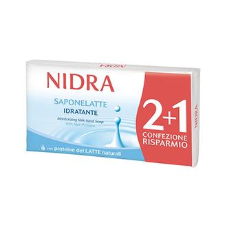 Nidra, Мыло с молочными протеинами, 3 шт.