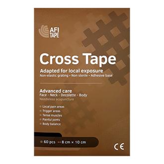 Afitape, Тейп Cross, бежевый, 10 листов