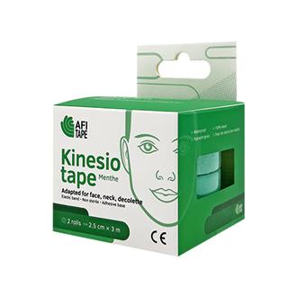 Afitape, Тейп для лица Kinesio Menthe, зеленый