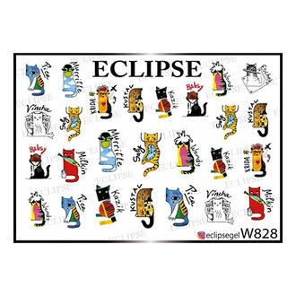Eclipse, Слайдер-дизайн для ногтей W №828