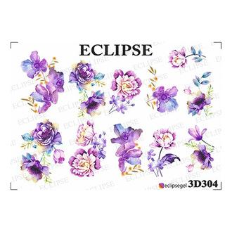 Eclipse, 3D-слайдер для ногтей №304