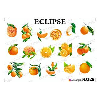 Eclipse, 3D-слайдер для ногтей №328