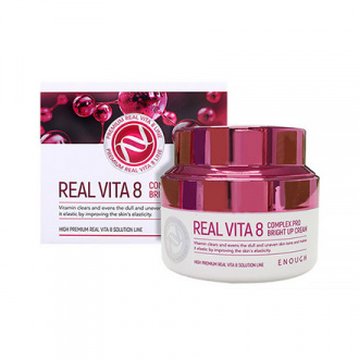 Enough, Крем для лица Real Vita 8 Complex Pro, 50 мл