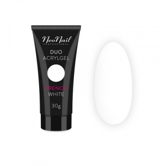 NeoNail, Акрил-гель Duo, French White, 30 г