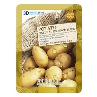 Foodaholic, Тканевая маска для лица Potato, 23 г