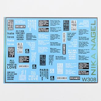 Nika Nagel, Слайдер-дизайн №W308