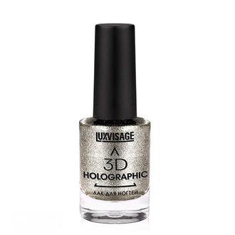 LUXVISAGE, Лак для ногтей 3D Holographic №707