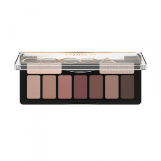 CATRICE, Палетка теней для век The Coral Nude, Warm Cocoa
