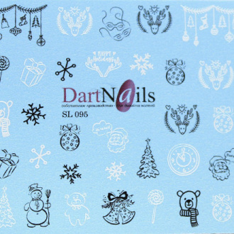 DartNails, Слайдер-дизайн Art-Fashion №95