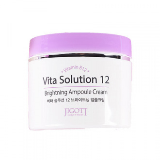 Jigott, Крем для лица Vita Solution 12 Brighting, 100 мл