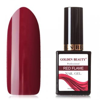 Гель-лак Golden Beauty Red Flame №05