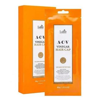 La'dor, Маска-шапка для волос AVC Vinegar, 30 г