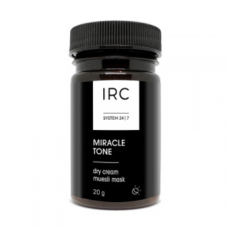 IRC 24|7, Экспресс-маска для лица Miracle Tone, 20 г