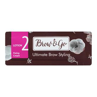 Brow&Go, Состав для стайлинга бровей Fixing Cream №2, саше