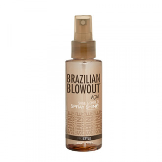 Brazilian Blowout, Спрей-блеск Acai Shine & Shield, 120 мл