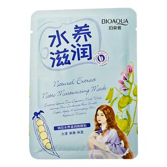 Bioaqua, Маска для лица Natural Extract Natto, 30 г