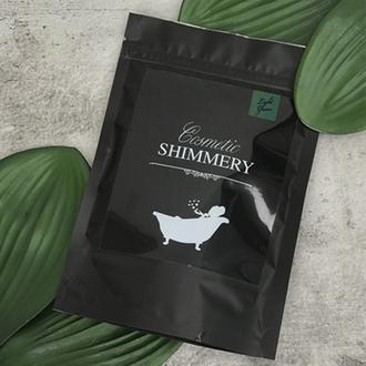Shimmery Cosmetic, Шиммер для ванны Light Green, 150 г
