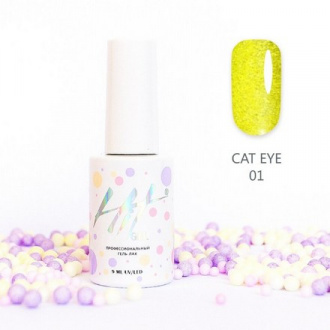 Гель-лак HIT Gel Cat Eye №01
