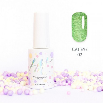 Гель-лак HIT Gel Cat Eye №02
