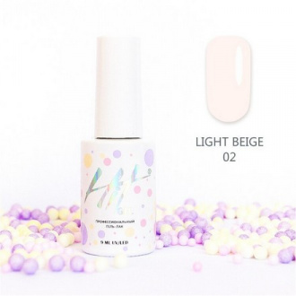 Гель-лак HIT Gel Light Beige №02