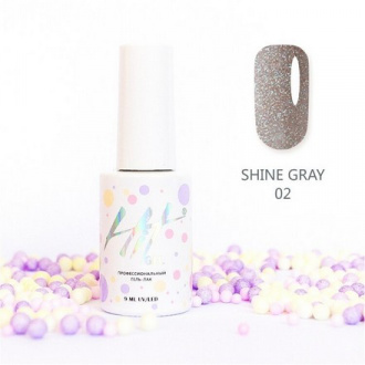 Гель-лак HIT Gel Shine Gray №02