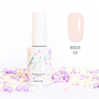 Гель-лак HIT Gel Beige №03