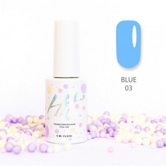 Гель-лак HIT Gel Blue №03