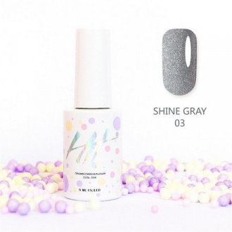 Гель-лак HIT Gel Shine Gray №03