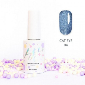 Гель-лак HIT Gel Cat Eye №04