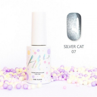 Гель-лак HIT Gel Silver Cat №07