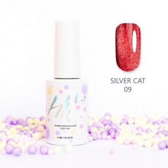 Гель-лак HIT Gel Silver Cat №09