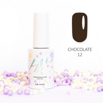 Гель-лак HIT Gel Chocolate №12