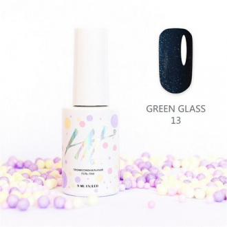 Гель-лак HIT Gel Green Glass №13
