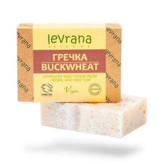 Levrana, Натуральное мыло «Гречка», 100 г