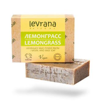 Levrana, Натуральное мыло «Лемонграсс», 100 г