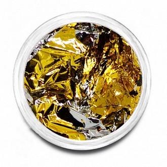 Puf, Фольга №01, золото/серебро