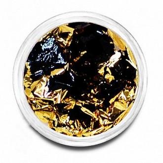 Puf, Фольга №02, золото/черный