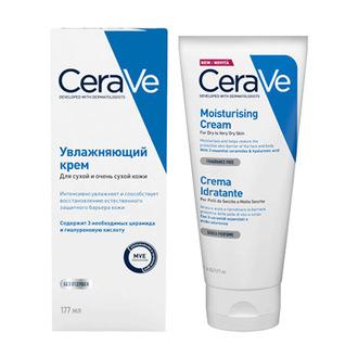 CeraVe, Увлажняющий крем для лица и тела, 177 мл
