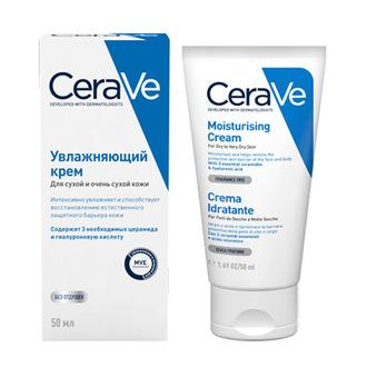 CeraVe, Увлажняющий крем для лица и тела, 50 мл