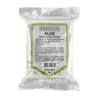 Raraskin, Очищающие салфетки для лица Aloe, 30 шт.