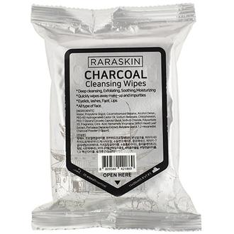 Raraskin, Очищающие салфетки для лица Charcoal, 30 шт.