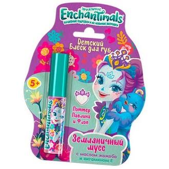 Enchantimals, Детский блеск для губ «Земляничный мусс»