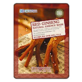 Foodaholic, Тканевая маска для лица Red Ginseng, 23 г