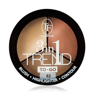 TF, Палетка для контуринга лица Trend To-Go, тон 82