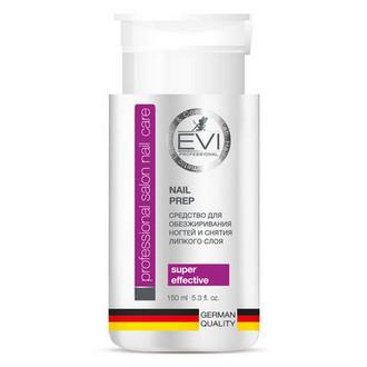 EVI professional, Средство для обезжиривания ногтей и снятия липкого слоя, с помпой, 150 мл